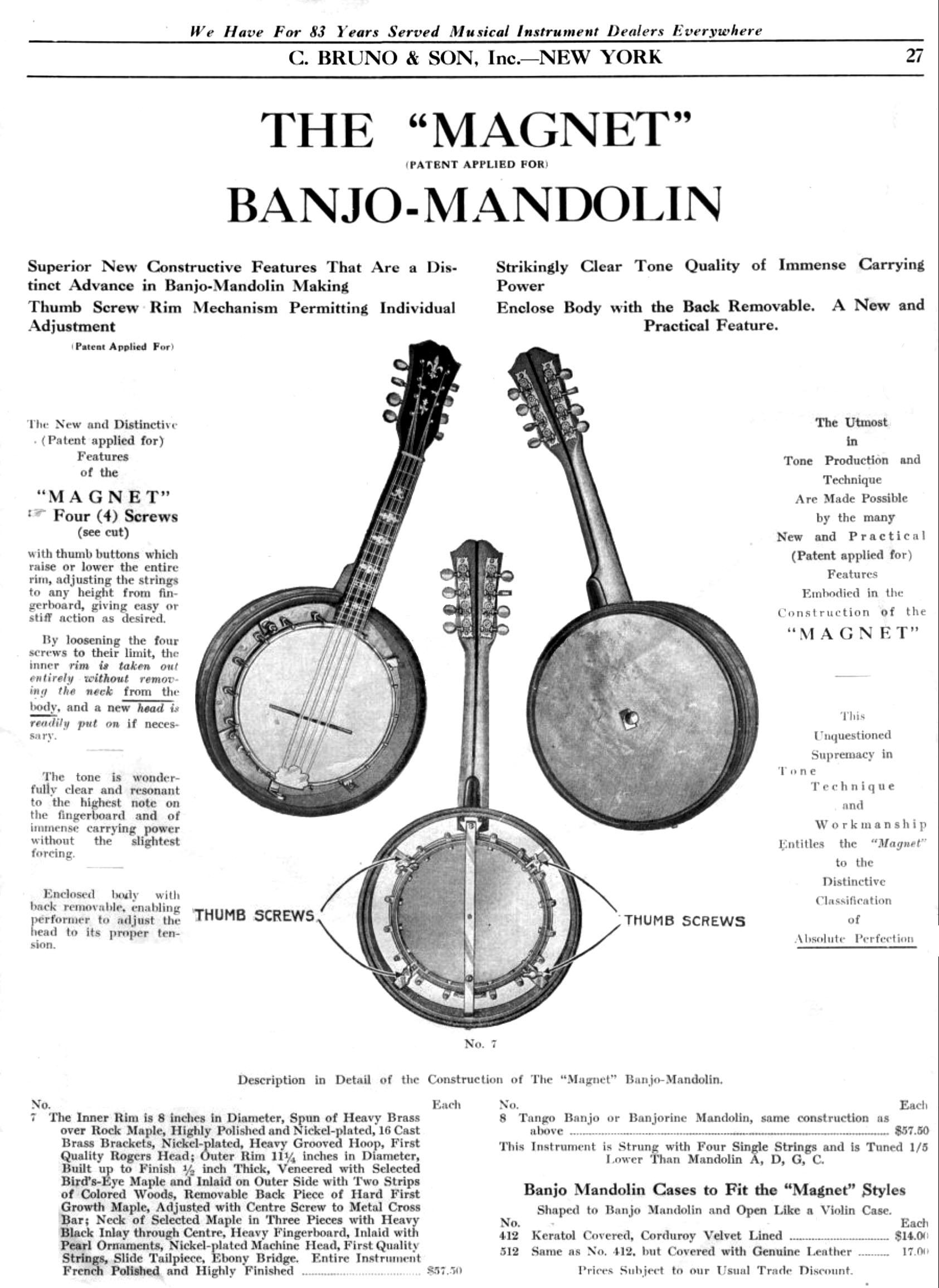 PICCOLO PLACE - Piccolo Banjos and Other Small Banjos